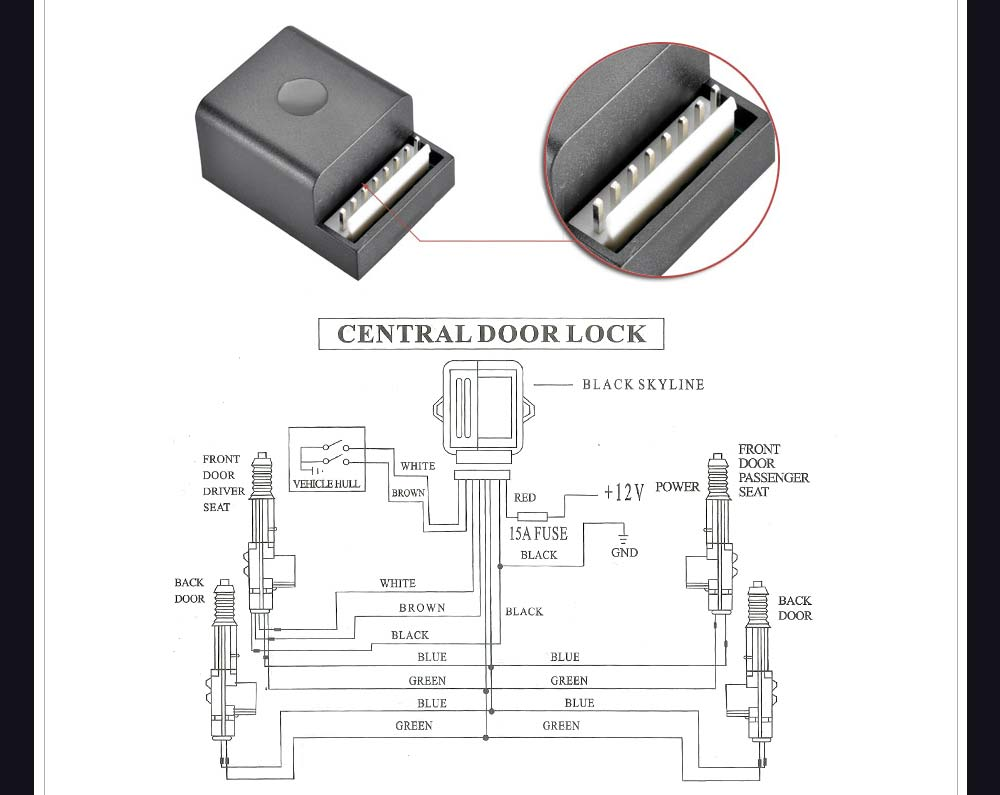 convert manual door locks to power