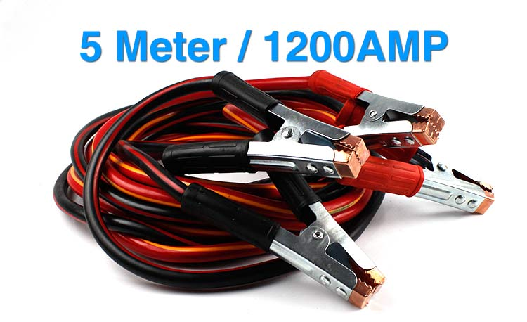Heavy Duty Truck Jumper Cables : New heavy duty car truck jump start booster cable battery