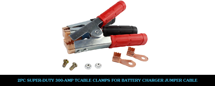 Heavy Duty Jumper Cable Clamps : Pcs replacement amp heavy duty copper clamps for
