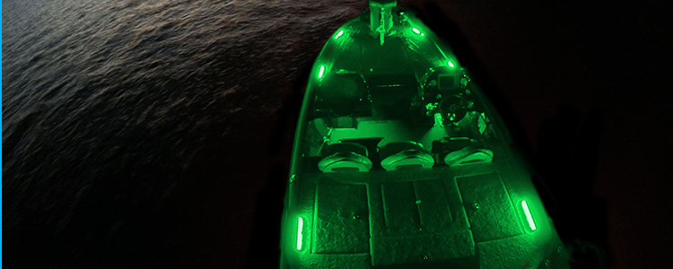 Red green led lighting bass boat bow navigation lights marine boat marine waterproof led lighting strip portstarboard sidelight boat navigation kit description this is a red green led light strip kit for the bow of mozeypictures Image collections